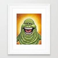 Ugly Spud - Slimer Framed Art Print