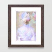La femme surréaliste  Framed Art Print