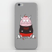 Pink Monster Kills iPhone & iPod Skin