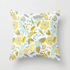Annabelle Meadow Throw Pillow