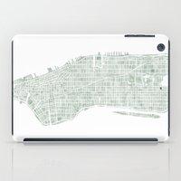 Manhattan NYC iPad Case