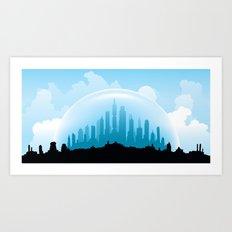 Dome Art Print