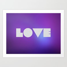 Emerald Love Art Print