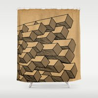 - cascade - Shower Curtain