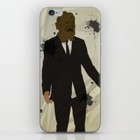 The Dark Knight: Scarecr… iPhone & iPod Skin