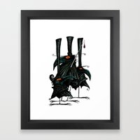 Murder of Crows Framed Art Print