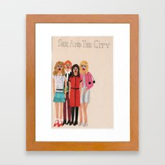 Sex and the City Framed Art Print