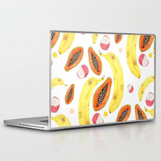 tropical juice (white) Laptop & iPad Skin