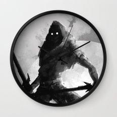 Dual-wielding Swordsman Wall Clock
