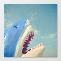 Shark! Canvas Print