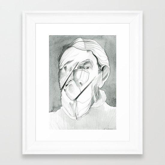 Twisted Framed Art Print