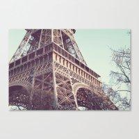 Daydreams at the Eiffel Canvas Print