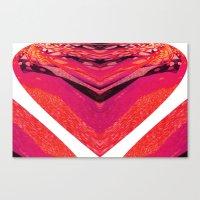 Pink Warp II Canvas Print