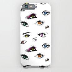 Dozens of Eyes Slim Case iPhone 6s