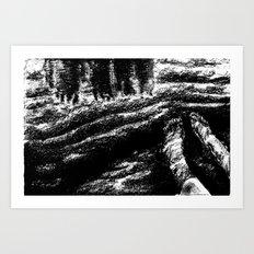 water's edge Art Print