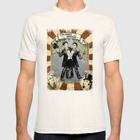 Conjoined in the Morning Mens Fitted Tee Natural SMALL