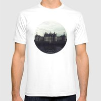 Bereft in deathly bloom Mens Fitted Tee White SMALL