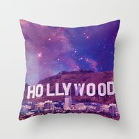 Hipsterland - Los Angeles Throw Pillow