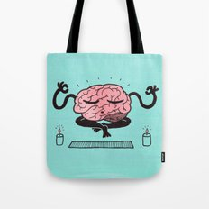 Train Your Brain Tote Bag