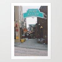 Post Alley Art Print