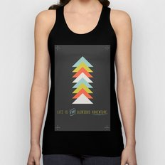 Life is the glorious adventure Unisex Tank Top
