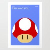 Poster Nintendo Super Mario Bros. Art Print