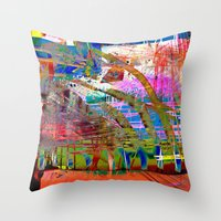 Earth Colors-Fall Throw Pillow