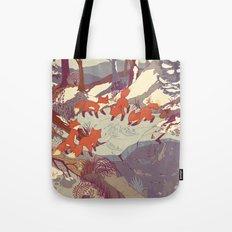 Fisher Fox Tote Bag