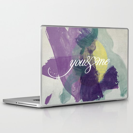 you&me Laptop & iPad Skin