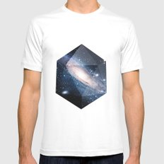 Cosmic Chance Mens Fitted Tee White SMALL