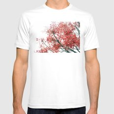 Star Berries SMALL White Mens Fitted Tee