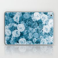 Bouquet ver.bluegreen Laptop & iPad Skin