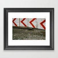 Move Over Framed Art Print