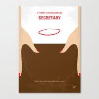 No371 My Secretary Minim… Canvas Print