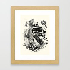 ouro Framed Art Print