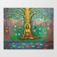 Bodhi Tree Canvas Print