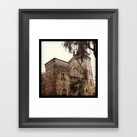 Church in Distress Framed Art Print