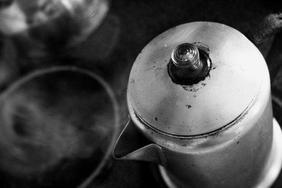 Brewing Steam Art Print