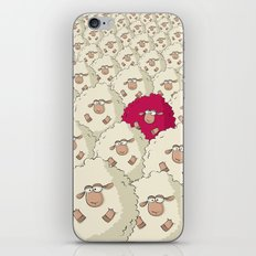 Sheep Pattern | Pink iPhone & iPod Skin