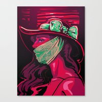 Invisible Monster Canvas Print