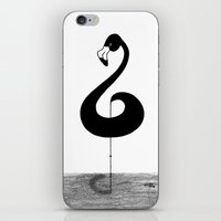 Musical Flamingo iPhone & iPod Skin