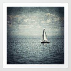Pleasure Boat Art Print