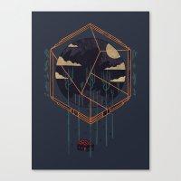 The Dark Woods Canvas Print
