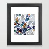 Cracked II Framed Art Print