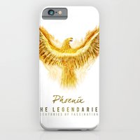 iPhone & iPod Case featuring Phoenix by Roma