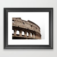 Colloseum Framed Art Print
