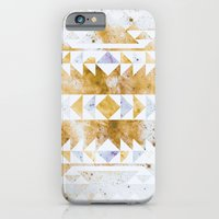 iPhone & iPod Case featuring Burnt Gold Tribal by Caleb Troy