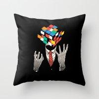 Mind Game Throw Pillow