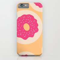 iPhone & iPod Case featuring Donut Party by Allyson Johnson