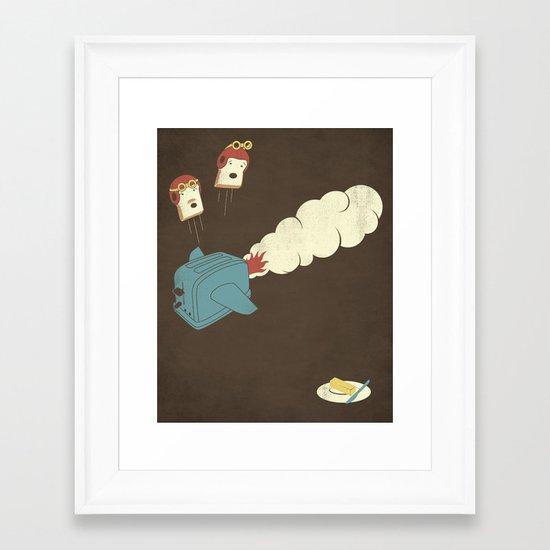 Eject! Framed Art Print